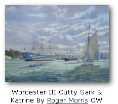 Worcester III Cutty Sark &  Katrine By Roger Morris OW